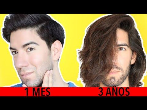 cuanto tiempo tarda en crecer el cabello largo hombre