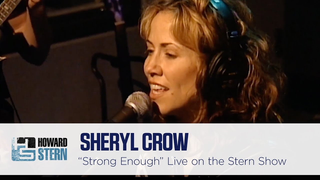 "Sheryl Crow ""Strong Enough"" on the Stern Show (1997)"