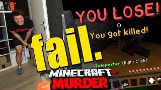 DER MIT ABSTAND DÜMMSTE TOD IN MURDER ✪ Minecraft MURDER
