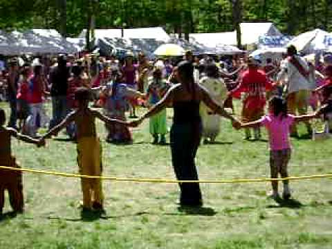 Mashpee, MA. USA, Mashpee Wampanoag Indian Tribe Pow Wow, Video #2