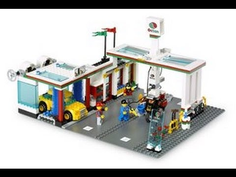 Lego City Car Wash 7993 Youtube