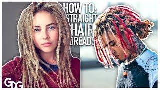 4 Ways To Get Dreadlocks With Straight Hair