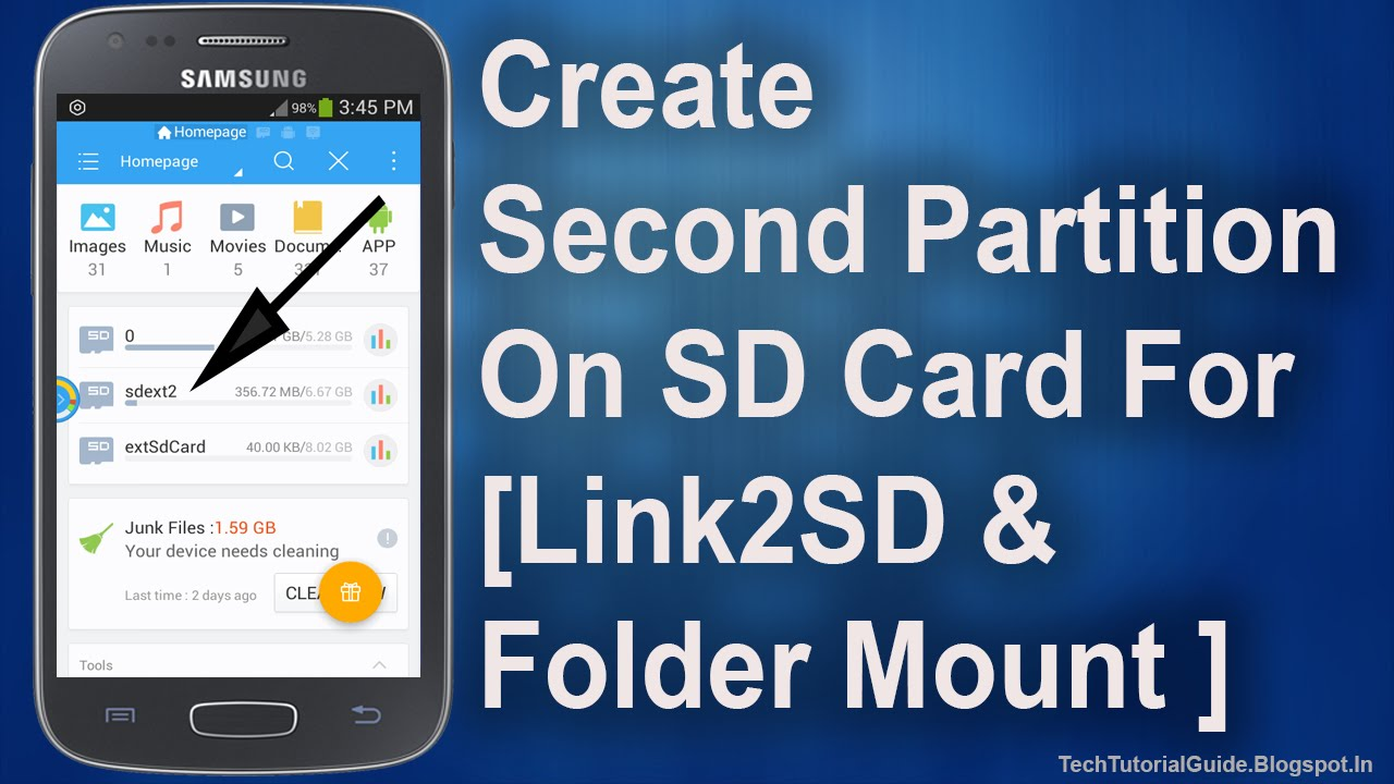 How To Create Second Partition (Ext2/Ext3/Ext4) On Sd Card ...