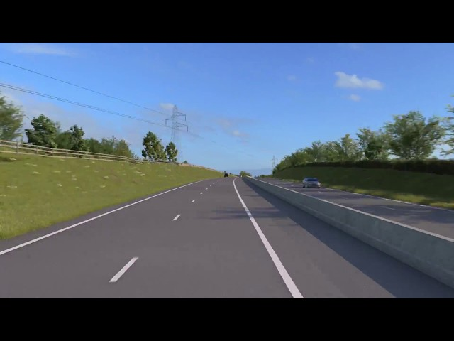 A30 Chiverton to Carland Cross Consultation Animation - Speeded Up