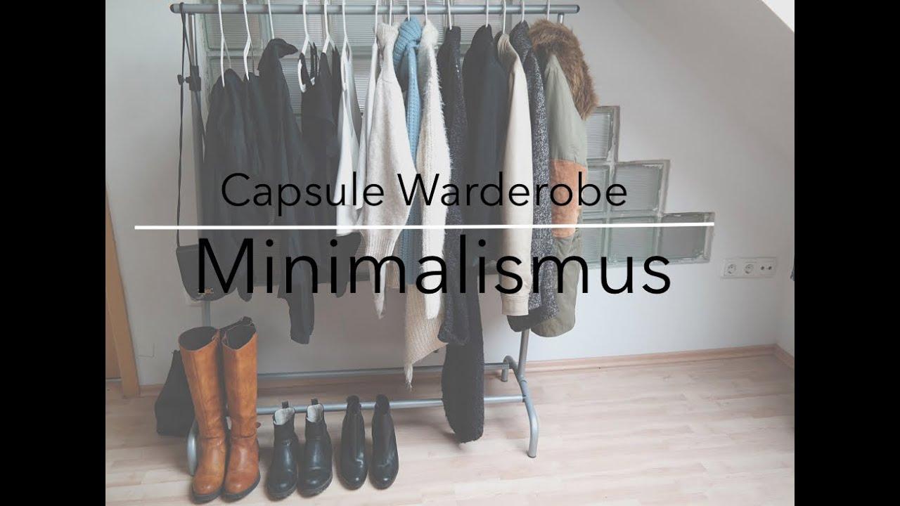 Capsule wardrobe try on 2015 youtube for Minimalismus im kleiderschrank