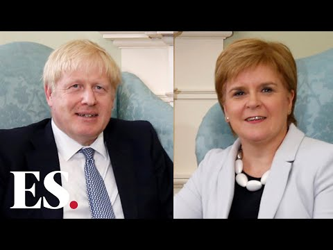 Scotland: Boris Johnson Rejects Nicola Sturgeon's Plan For Second Scottish Independence Referendum