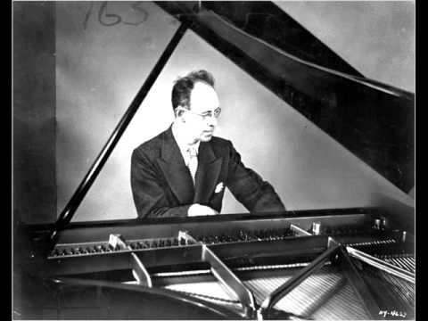 Rudolf Serkin plays Schumann's Études Symphoniques Opus 13 (live, 1956)