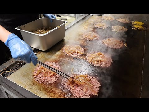Best American Cheese Burger that sells 400 a day! Korean street food