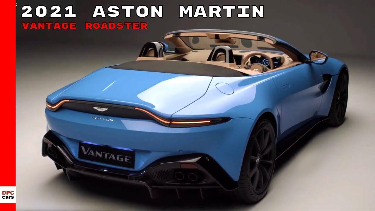 2021 Aston Martin Vantage Roadster Youtube