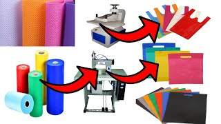 घर से शुरू कीजिए दमदार बिजनेस | Income 1 lakh per month | Non woven bag business,  2020