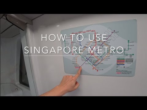 How to get around Singapore + Using Singapore Metro (MRT)
