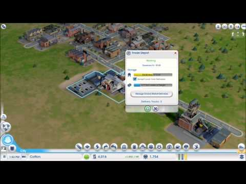 SimCity: Ep.3: Mines and Trade Depot