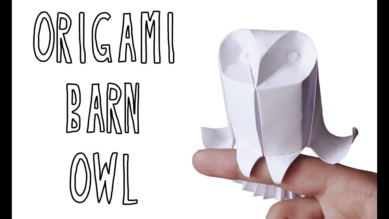 Origami Barn Owl Riccardo Foschi