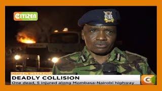 One dead, 5 injured along Mombasa-Nairobi highway