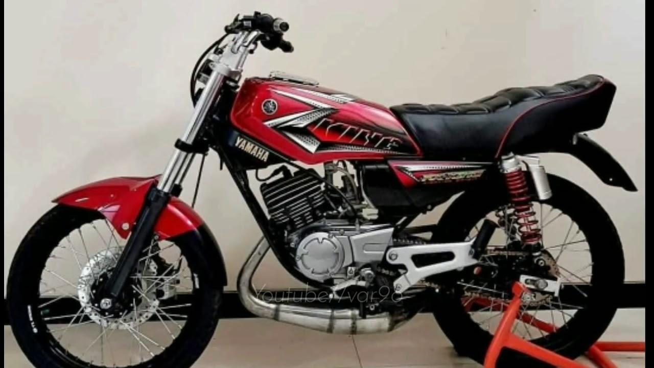 Motor Modifikasi Terkini Modifikasi Rx King Warna Merah