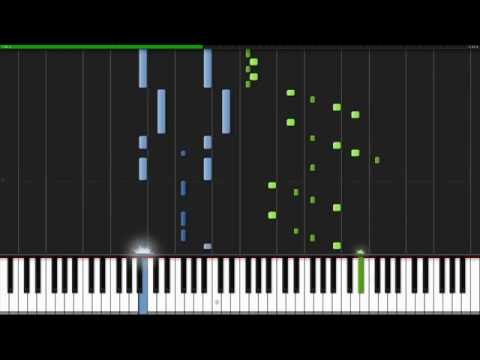Ride of the Valkyries  Richard Wagner Piano Tutorial Synthesia