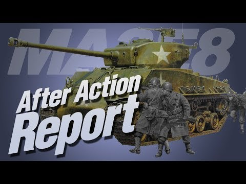 After Action Report: Tamiya 25175 M4A3E8 Sherman in 1/35