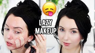 LAZY DAY MAKEUP! QUICK & MINIMAL MAKEUP ROUTINE for Running Errands