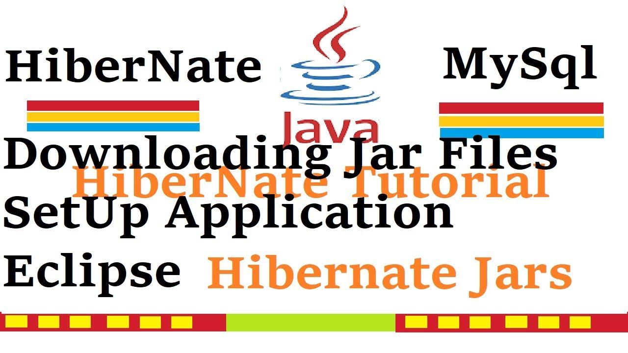 How to Download Hibernate Jar File   Downloading Hibernate Jar File