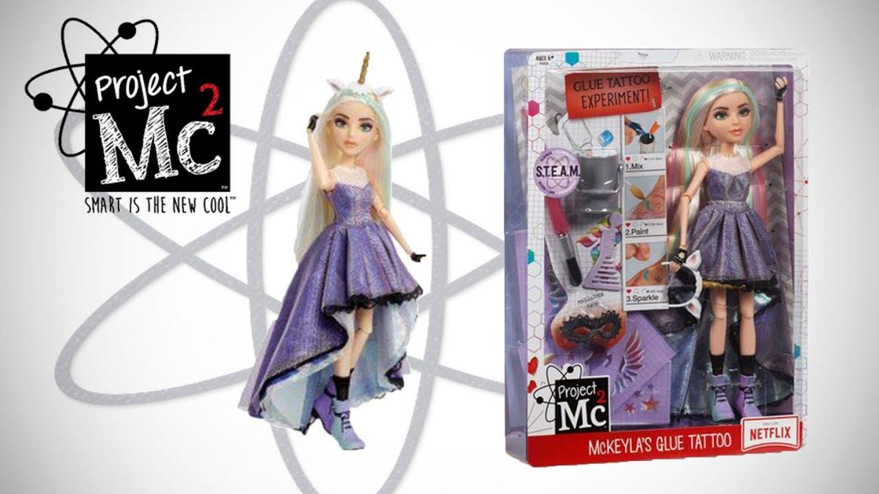 Project Mc2 Experiments with McKeyla/'s Glue Tattoo