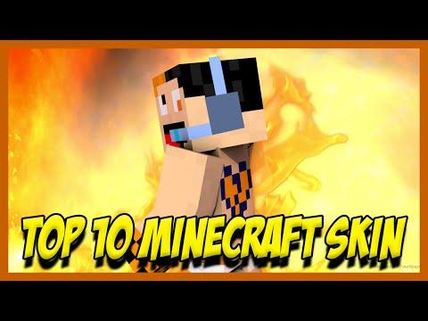 TOP 10 - SKIN DI MINECRAFT