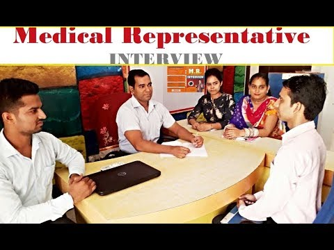 medical representative interview questions and answers for