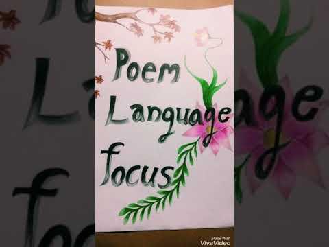 Poem Language Focus