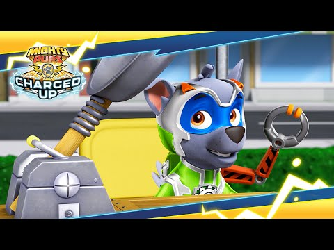 Mighty Pups Charged Up: Pups vs. the Teenybots | PAW Patrol Official & Friends