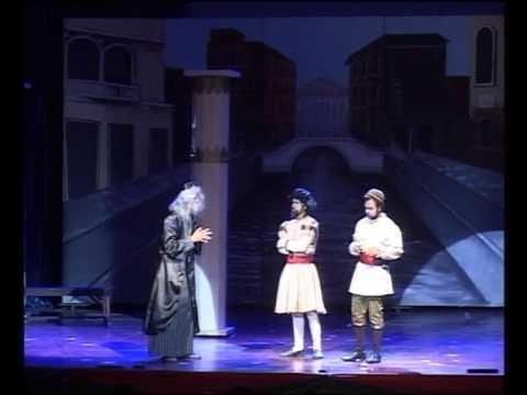 William Shakespeare's Spectacular Tragi-Comedy THE MERCHANT OF VENICE - PART 1
