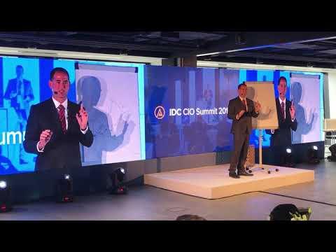 Péter Kalmár's presentation on IDC CIO Summit Warsaw 2018 en streaming