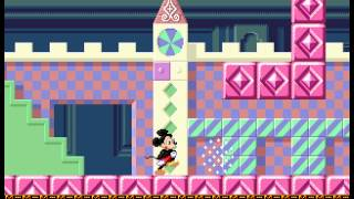 Castle of Illusion Starring Mickey Mouse - Castle of Illusion Starring Mickey Mouse (Sega Genesis) - Short game - User video