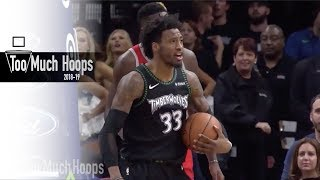 Wiggins & Covington Lockdown Wing Defense vs Rockets - All-Defensive Highlights, 12.3.2018