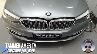2018 BMW 5 Series 520i overview 1080@60fps