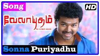 vuclip Velayudham Tamil Movie | Songs | Sonna Puriyadhu Song | Vijay leaves to Chennai | Hansika