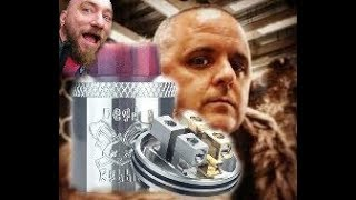 The Dead Rabbit RDA by Heathen and Hell Vape Build and Review