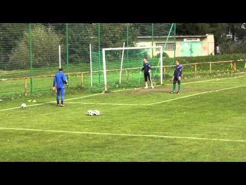 Milan Zahalka Football Goalkeeper Training 1 part.