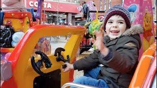Alex  Ride on Car Having Fun