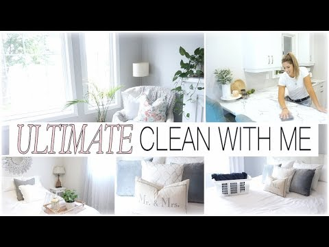 ULTIMATE CLEAN WITH ME 2018 // EXTREME CLEANING MOTIVATION // Cleaning Routine