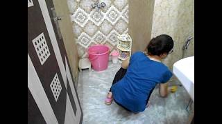 BATHROOM CLEANING ROUTINE  || How To Clean Bathroom/Toilet/Washroom