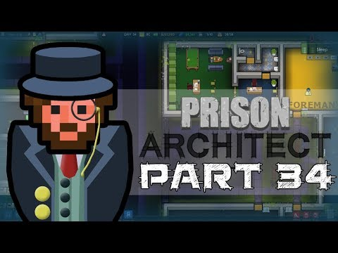 Let's Play - Prison Architect - Two Sinks, One Toilet