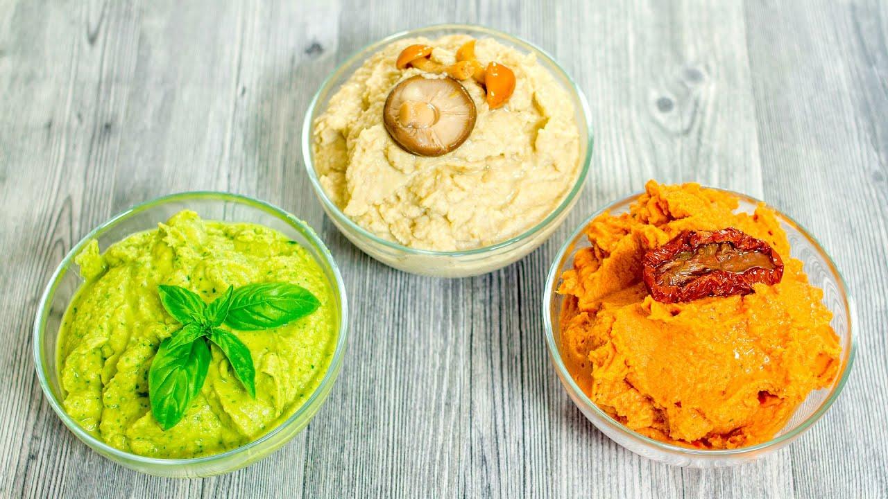 Ricetta Hummus Di Ceci Cucina Botanica.Hummus Di Ceci Proteico E Leggerissimo 3 Ricette Estive Per Prepararlo In Pochi Minuti Youtube