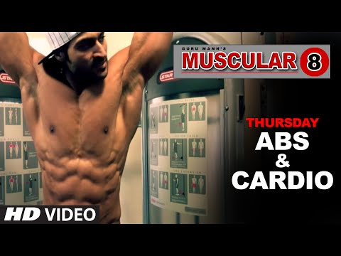Thursday: Abs Workout & Cardio Workout | 'MUSCULAR 8' by Guru Mann