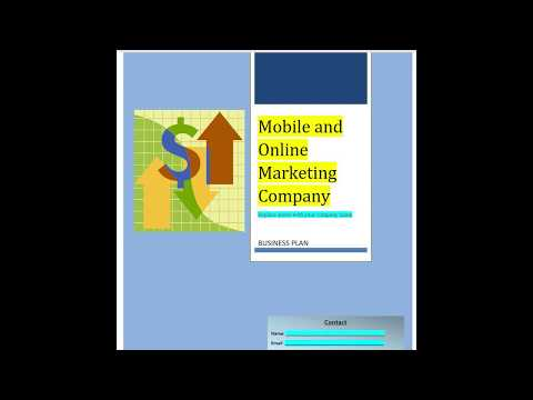 Digital Marketing Agency business plan - Flip through the pages