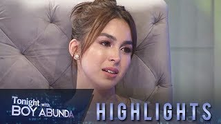 TWBA: Julia shed tears as she looks back on what she went through to reach her dreams
