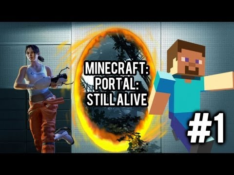 Portal: Still Alive - Minecraft Adventure Map - Welcome To Aperture Science - #1