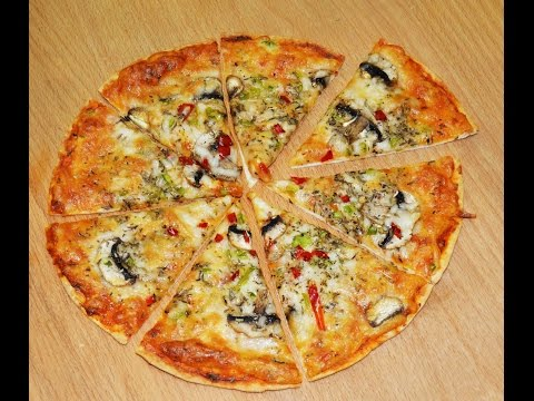 Easy Tortilla Pizza Recipe 2018