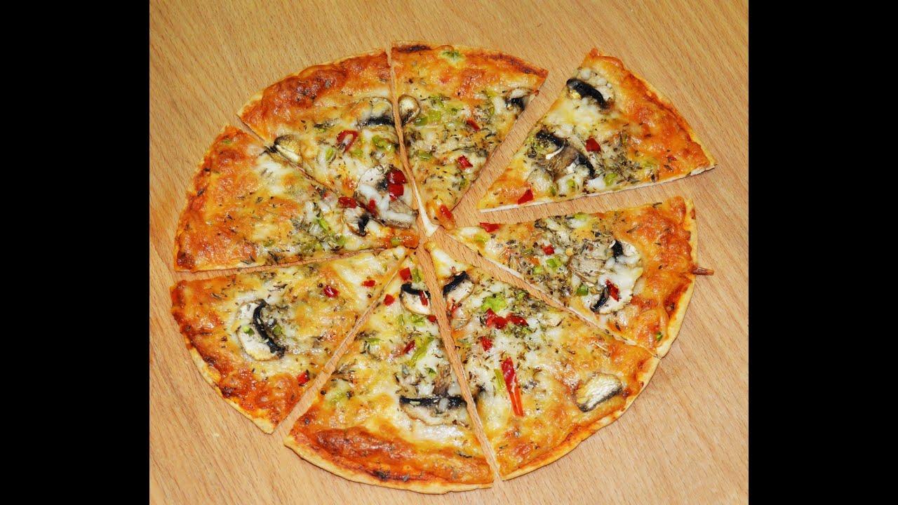 Tortilla Pizza Recipe - Make It Easy Recipes