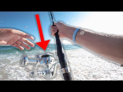 NEW Van Staal VSX 200 Bailess Fishing Reel ( My First Time Trying It Out ) Surf Fishing Long Island
