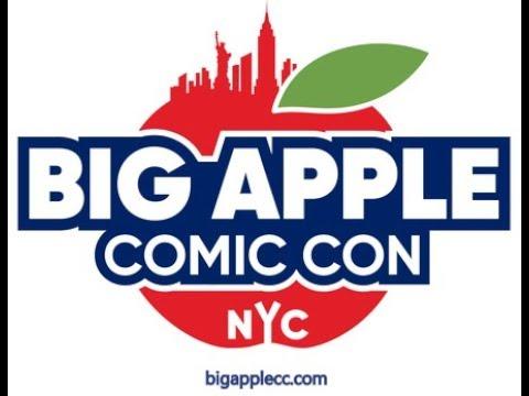 NYC BIG APPLE COMIC CON 2018!!!!