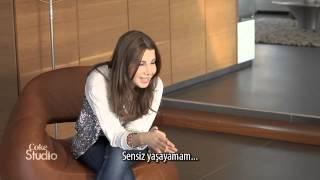Nancy Ajram - Lawn Ouyounek Acoustic (Turkish Subtitles / Coke Studio)